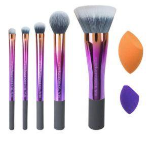 makeup school la real techniques brushes sponge