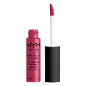 nyx cosmetics, nyx, soft matte lip cream, pink, makeup, makeup products, beauty, makeup news