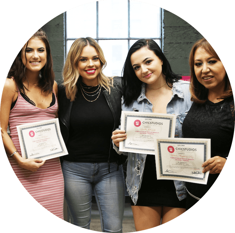 makeup school in LA certificate
