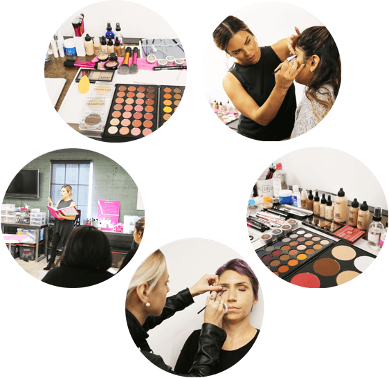 choosing a professional makeup school, makeup artist