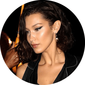 makeup school in la bella hadid