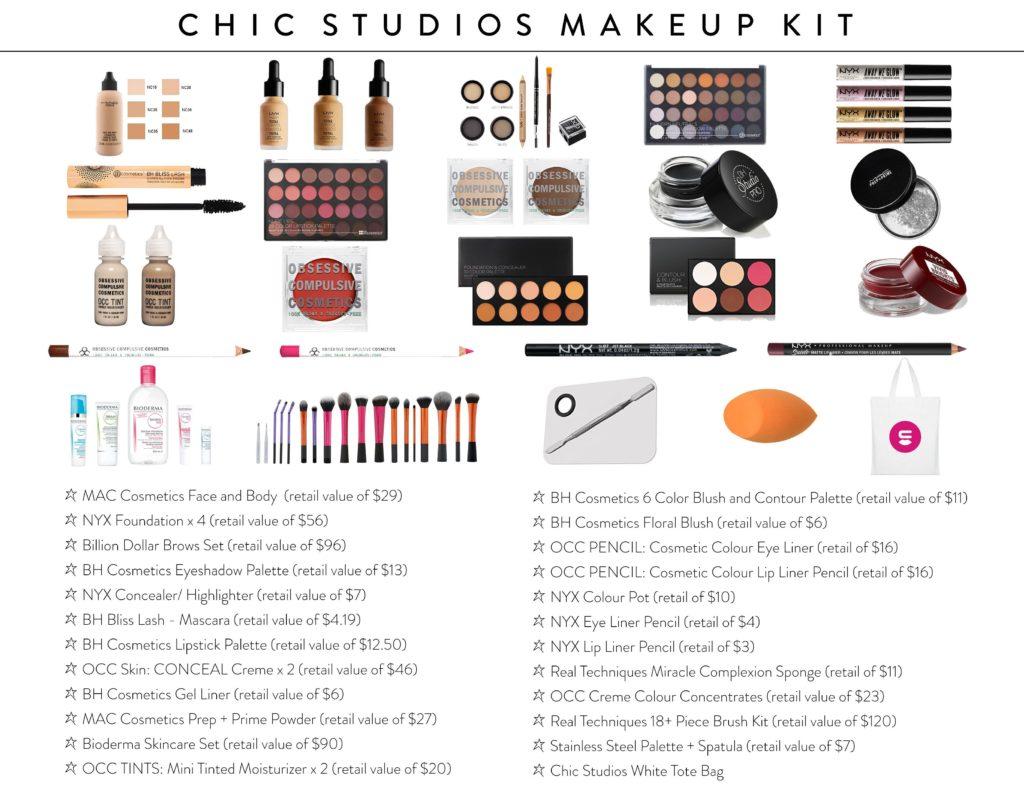 Chic Studios Makeup Kit