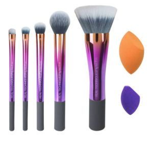 makeup school la real techniques brushes sponge