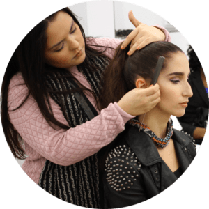 makeup school nyc basic hairstyling
