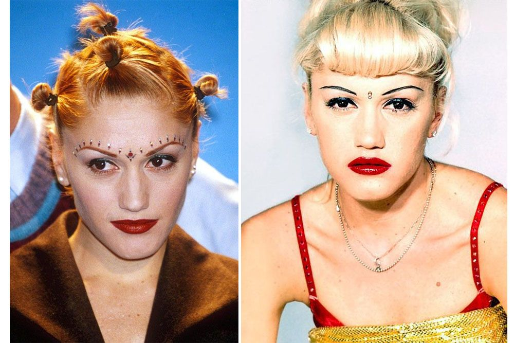 looks from the 90s gwen stefani